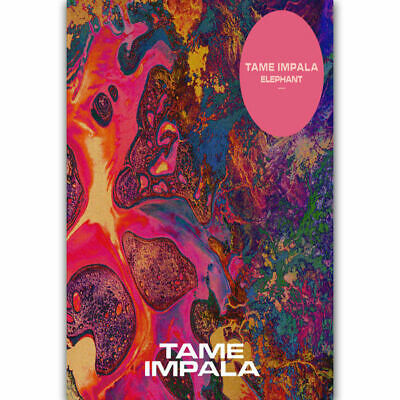 1248D New Tame Impala Psychedelic Rock Music Band-Print Art Silk Poster