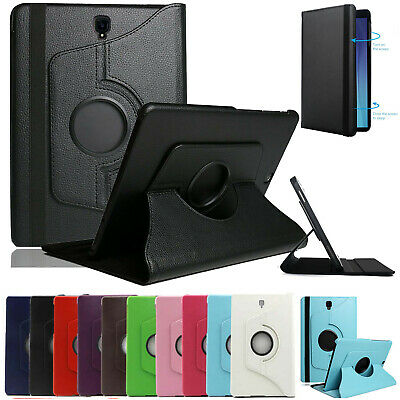 """For Samsung Galaxy Tab 2 3 4 S5e A 7""""-10.5"""" inch Tablet Rotating Flip Case Cover"""
