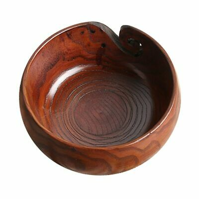 Wooden Yarn Bowl Sewing Balls Storage Organizer For Crochet Knitting Holder Tool