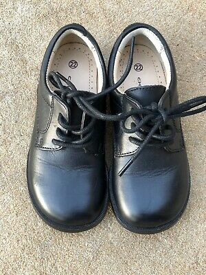 Boys Black Leather Laceup Formal Shoes Size 22 Childrensalon London George