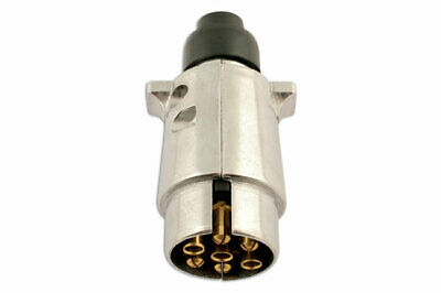 7 Pin Metal Plug 12 Volt 12N Pk 5 | 39946 by Connect | New