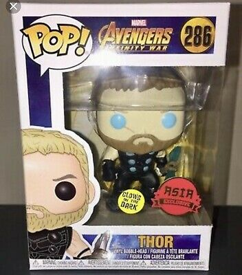 Funko Pop! Marvel Avengers Infinity War Thor GITD Asia Exclusive