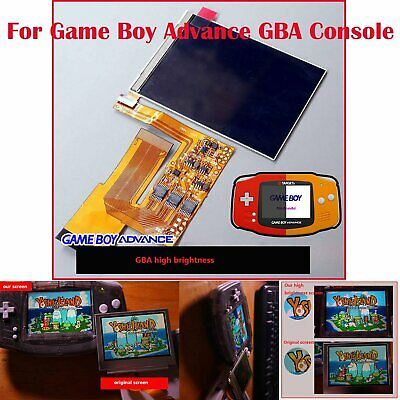 10 Levels Brightness Pour Game Boy Advance GBA Console IPS Backlight Backlit LCD