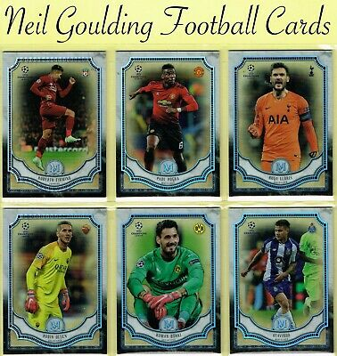 Champions League MUSEUM 2018-2019 ☆ Football Base Cards ☆ #1 to #75