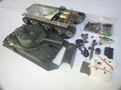 Sherman 1:16 Rc Tank By Tamiya Item Rt-1601 Assembled (3)