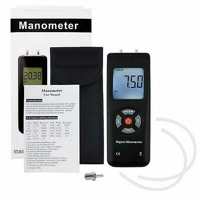 Air Tester High Precision Hand-held LCD Digital Dual-port Manometer Different