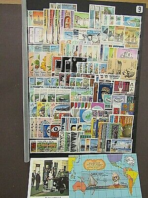 British Empire - Collection Of 50+ Qe2 South Pacific Sets - Superb Mnh On S/Card
