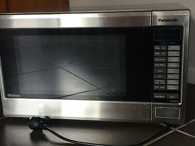 23l Microwave Black Stainless Steel Nn Sd38hsqpq