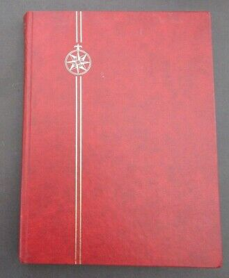 Large 32 Page Stockbook Completely Full With Commonwealth & World Stamps - 2800+