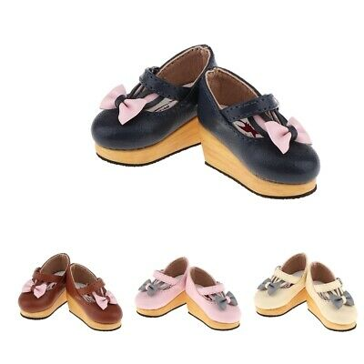 Fashion Cute Doll Shoes for Blythe 1/6 BJD Dolls Party/Daily Shoes Dress up