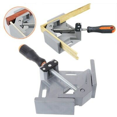 90° Corner Clamp Right Angle Clamp Woodworking Vice Wooden Metal Welding Gussets