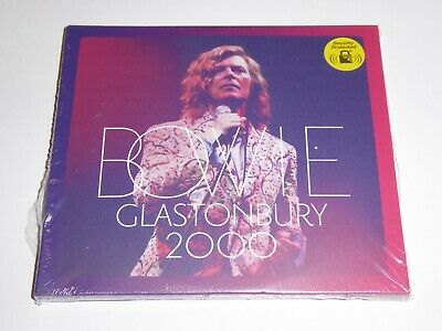David Bowie - Glastonbury (2018) - NEW / SEALED GENUINE 2-Disc CD ALBUM
