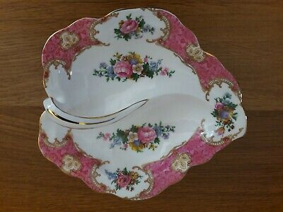 Royal Albert Lady Carlyle Dish with handle
