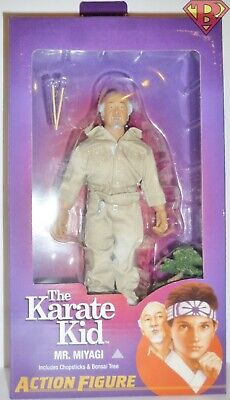"MR. MIYAGI The Karate Kid 8"" inch Scale Clothed Action Figure Neca 2019"