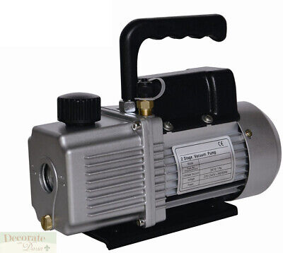 VACUUM PUMP AIR CONDITIONER REFRIGERATION 6.0 CFM 2 Stage 1/2HP HVAC/R 110v New
