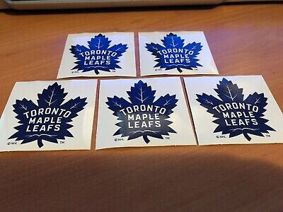 Lot Of 5 Toronto Maple Leaf Stickers