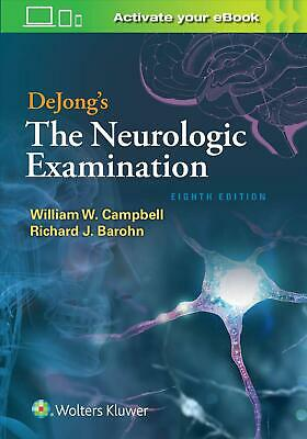 Dejong's the Neurologic Examination by Richard J. M.D. Barohn Hardcover Book Fre