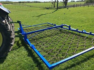 Chain Harrows Folding Tractor 16Ft+ Working Width Excellent Condtion
