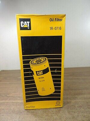 CATERPILLAR 1R0716 ENGINE Oil Filter 3406 C15 Genuine OEM Standard