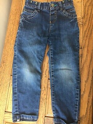 Ted Baker Jeans Boys Light Blue  Designer Trousers Blue Jeans Age 4-5 Years Boys