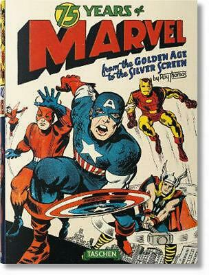 75 Years of Marvel Comics by Roy Thomas (English) Hardcover Book Free Shipping!