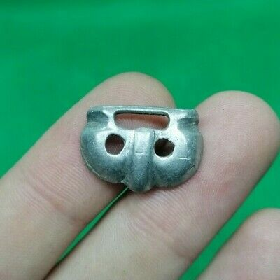 Superb Ancient Celtic Druids Silver Fertility Amulet Pendant - 200/100 Bc