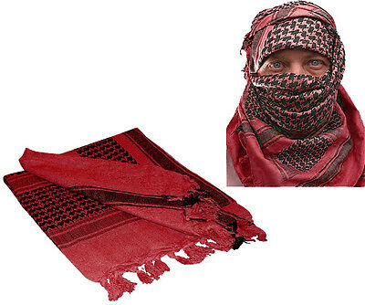 """Rebel Tactical Shemagh Tactical Military Scarf 42/""""x42/"""" Normal Weight Tan"""