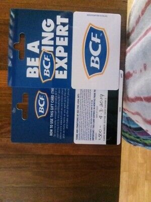 Bcf vouchers 500 dollars each any reasonable price may be taken text 0450092153