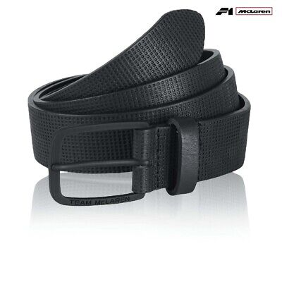 BELT Team McLaren Formula One 1 F1 Team Alonso Button Premium Black Lge-XL AU