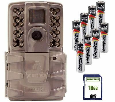 New Moultrie A-40 Pro Infrared 14MP Game Trail Camera Kit SD Card + Batteries
