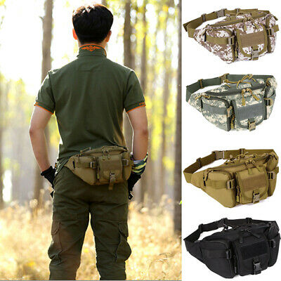 Utility Tactical Waist Pack Military Camping Hiking Mini Bag Belt Bags US Mens's