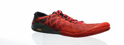 Merrell Men's Vapor Glove 3 Molten Lava Size 9.5 J09677 Barefoot Red Shoes