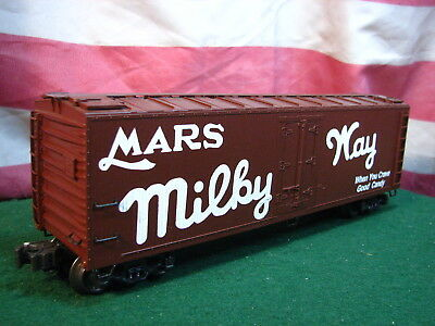 K-line K762-8016 Mars Milky Way O Scale Wood Sided Reefer Refrigerator Car LNIB