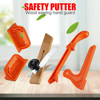 Safety Hand Protection Sawdust Wood Saw Push Stick Set for Table Woodwork Tool