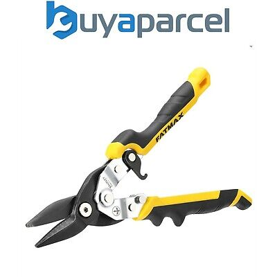 environ 25.40 cm 10 in STA214563 Stanley Tools jaune Aviation Snip Coupe droite 250 mm