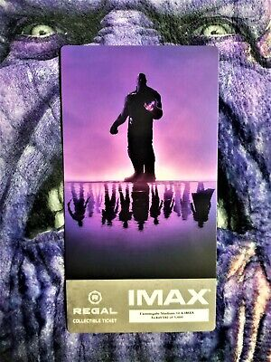 Avengers Endgame Week 1 IMAX Regal Collectible Ticket ! 592 Out Of 1,000 !