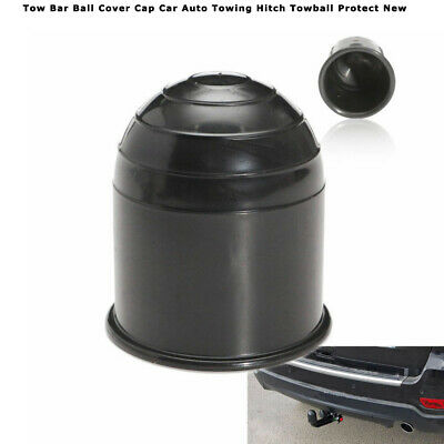 50mm Plastic Tow Bar Ball Cover Cap Car Auto Towing Hitch Towball Protect New MA