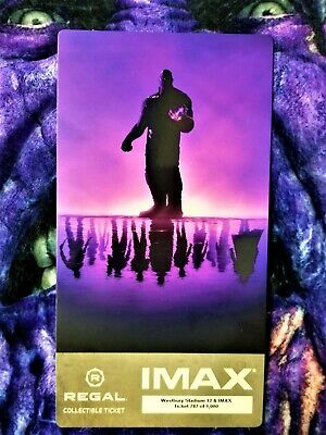 Avengers Endgame Week 1 IMAX Regal Collectible Ticket ! 787 Out Of 1,000 !