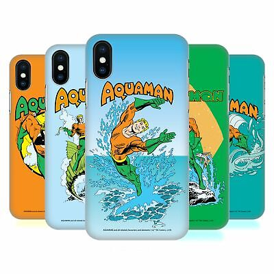 OFFICIAL AQUAMAN DC COMICS FAST FASHION HARD BACK CASE FOR APPLE iPHONE PHONES
