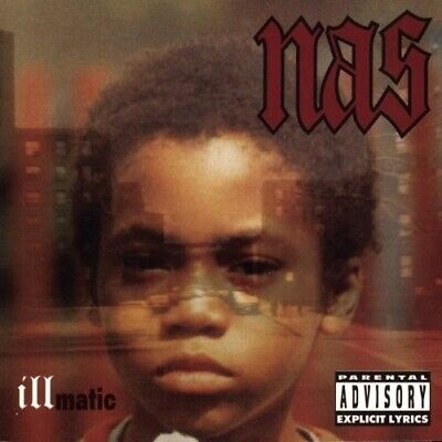 Illmatic [PA] by Nas (CD, Apr-1994, Columbia)