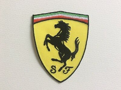 A303 Patch Ecusson Ferrari 9,5 6,5 Cm