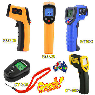 9 Type Non-Contact LCD IR Laser Infrared Digital Temperature Thermometer Gun FO