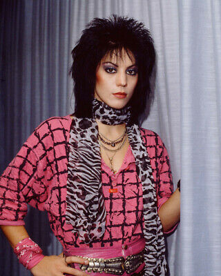 JOAN JETT Rock Singer Actress 8x10 Photo 1 New Rare Glossy Lab Print Picture #05