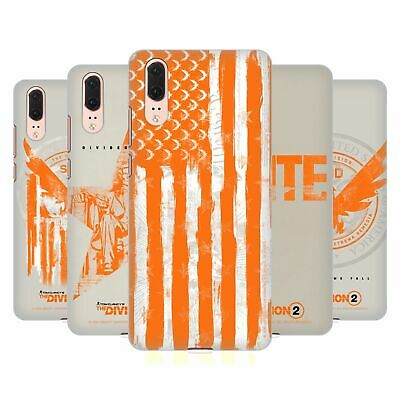 Official Tom Clancy's The Division 2 Key Art Hard Back Case For Huawei Phones 1
