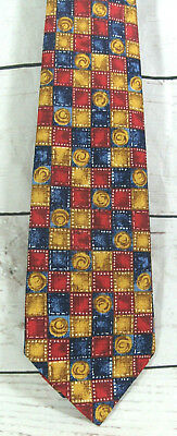 Vintage Retro St Michael Mens Wide Tie