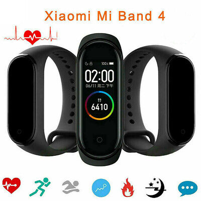 "Xiaomi Mi Band 4 0.95"" AMOLED Screen Bluetooth 5.0 135mAh Smart Fitness Tracker"