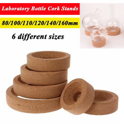 For 10-5000ml Flask Laboratory Bottle Cork Stand Ring Holder Round Bottom 6 Size