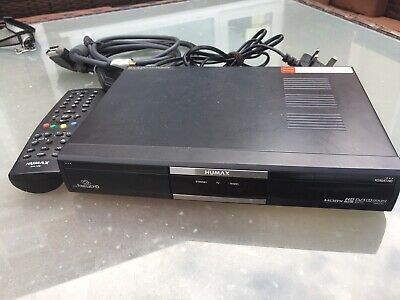 Humax Foxsat Hd Freesat Satellite Receiver, Hdmi Cable + Remote Fully Working