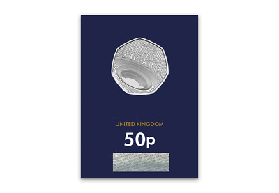 2019 UK Stephen Hawking CERTIFIED BU 50p