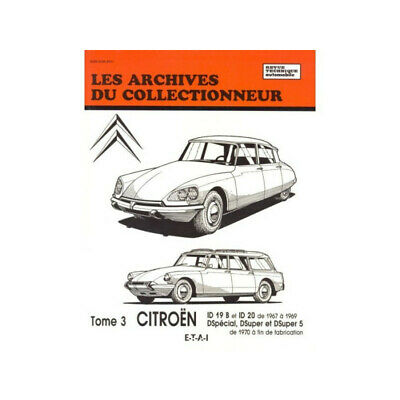 Revue Technique Citroen Id 19B-20-Ds Special-Super-Super 5 T3  Arc 32 / 97827268